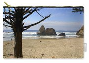 Tree And Ocean Carry-all Pouch