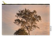 Tree At Dusk On Suomenlinna Island Carry-all Pouch
