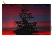 Tree At Sunset Carry-all Pouch