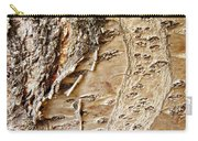 Tree Bark 9 Carry-all Pouch