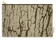 Tree Bark Texture Brown Carry-all Pouch