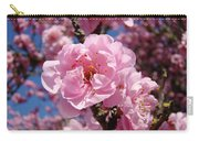 Tree Blossoming Pink Spring Blue Sky Baslee Troutman Carry-all Pouch