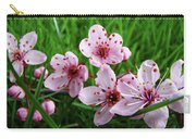 Tree Blossoms 4 Spring Flowers Art Prints Giclee Flower Blossoms Carry-all Pouch