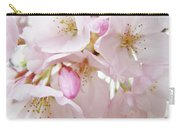 Tree Blossoms Art Prints Canvas Pink Spring Blossoms Baslee Troutman Carry-all Pouch