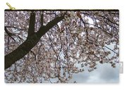 Tree Blossoms Landscape 11 Spring Blossoms Art Prints Giclee Sky Storm Clouds Carry-all Pouch