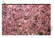 Tree Blossoms Pink Blossoms Art Prints Giclee Flower Landscape Artwork Carry-all Pouch