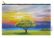 Tree By The Beach Carry-all Pouch