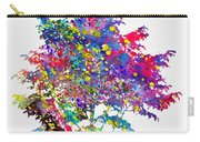 Tree-colorful Carry-all Pouch
