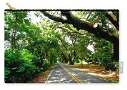 Tree Covered Road Carry-all Pouch