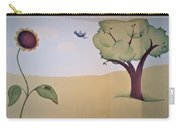 Tree, Daisy Pad And Birdie Carry-all Pouch