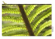 Tree Fern Frond Carry-all Pouch