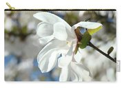 Tree Floral Garden White Magnolia Carry-all Pouch
