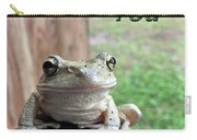 Tree Frog Thank You Carry-all Pouch