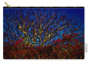 Tree Glow In The Dark Carry-all Pouch