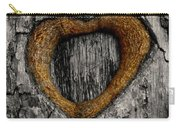 Tree Graffiti Heart Carry-all Pouch
