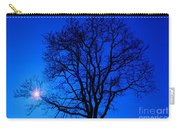 Tree In Blue Sky Carry-all Pouch
