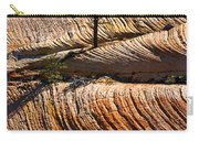 Tree In Flowing Rock Carry-all Pouch