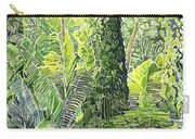 Tree In Garden Carry-all Pouch