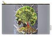 Tree In The Garden On Aluminum Substate Carry-all Pouch