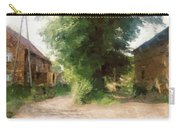 Tree In The Road Carry-all Pouch