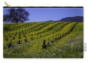 Tree  In Vineyards Carry-all Pouch
