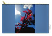 Tree Leaves Red 061814a Carry-all Pouch