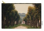 Tree Lined Pathway In Lyon France Carry-all Pouch