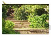 Tree Lined Steps Carry-all Pouch