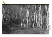 Tree Loop B And W Carry-all Pouch