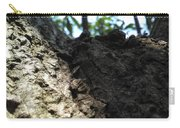 Tree Macro View Carry-all Pouch