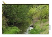 Tree Mirror In Stream 2 Carry-all Pouch