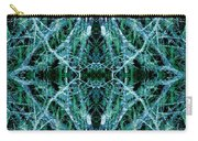 Tree Moss Mandala Carry-all Pouch