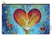 Tree Of Hearts Carry-all Pouch