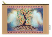 Tree Of Life Carry-all Pouch by Kathy Braud