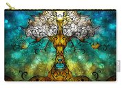 Tree Of Life Carry-all Pouch by Mandie Manzano
