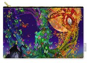 Tree Of Life With Owl And Dragon Carry-all Pouch