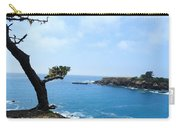 Tree On A Coastline Carry-all Pouch