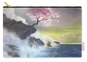 Tree On Cliff Carry-all Pouch