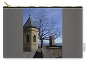 Tree On The Castle Wall Carry-all Pouch