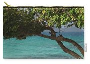 Tree Over Sapphire Beach Carry-all Pouch