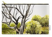 Tree Painting Carry-all Pouch