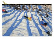 Tree Shadows Morzine Carry-all Pouch by Andrew Macara