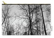 Tree Silhouette II Bw Carry-all Pouch