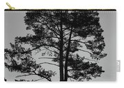 Tree Silhouette In The Dark Carry-all Pouch