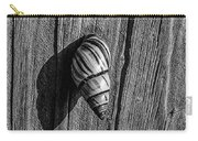 Tree Snail Black N White Carry-all Pouch