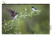 Tree Swallows Carry-all Pouch