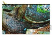Tree Trunk By Jordan Pond In Acadia National Park-maine Carry-all Pouch