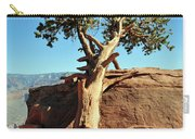 Tree Verses Rock Carry-all Pouch