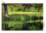 Tree With Lily Reflections Carry-all Pouch