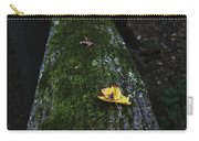 Tree With Yellow Leaf Carry-all Pouch